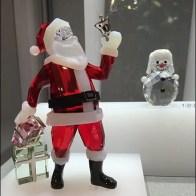 Santa at Swarovski