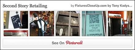 Second Story Retail FixturesCloseUp Pinterest Board