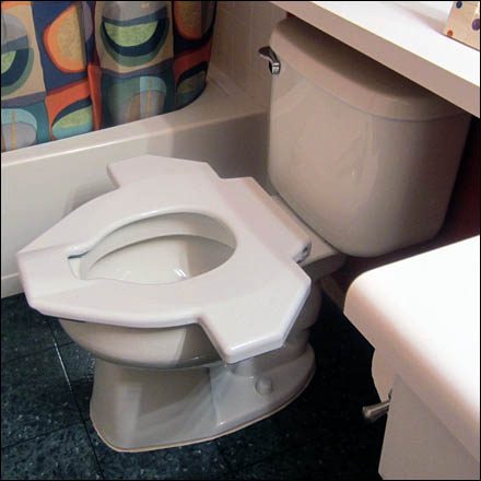 Wingman Toilet Seat Alternative For Restrooms