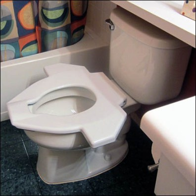 Wingman Toilet Seat Installed