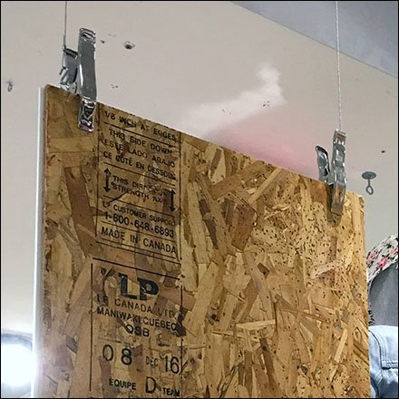 Particle Board in Retail Display