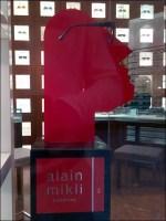 Alain Mikli Brand Red-faced