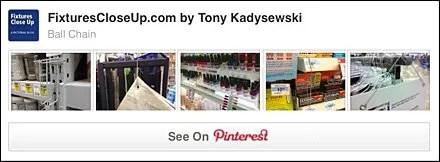 Ball-Chain FixturesCloseUp Pinterest Board