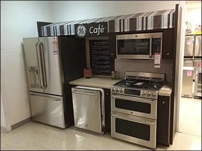 GE Cafe Menu of Appliances 1