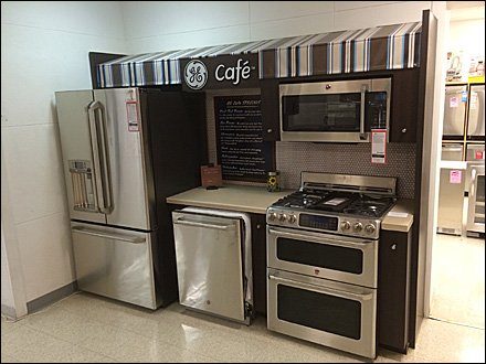 GE Cafe Menu of Appliances 1