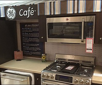 GE Cafe Menu of Appliances 3