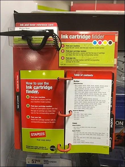 Ink Cartridge Finder Main