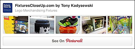 Lego® Fixtures Pinterest Board on FixturesCloseUp