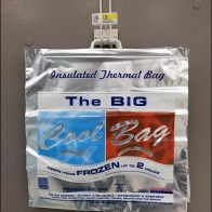 Magnetic Cooler Bag Dispenser Aux