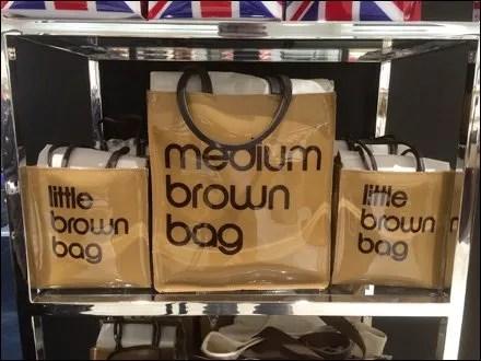 Bloomingdale Vinyl Brown Bag Branding