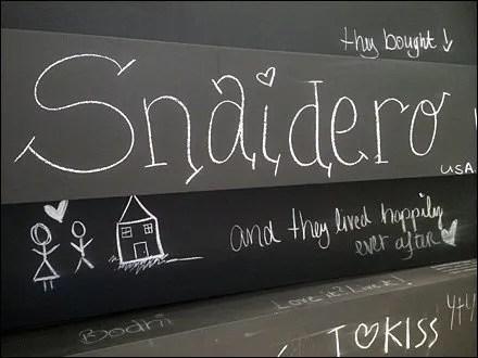 Snaidero Display and Merchandising - Snaidero Like Us on Facebook Aux