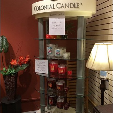 Colonial Candle Display Main