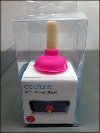 Couture Toilet Plunger Stand 3