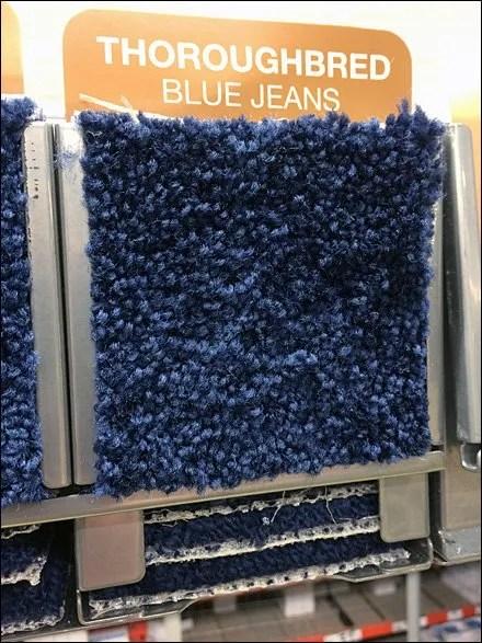 Gravity-Feed Carpet Samples