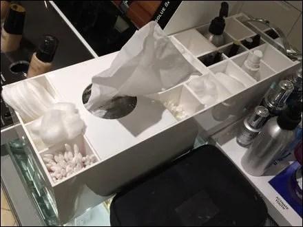 Lancome Cosmetics Accessories Tray Overall