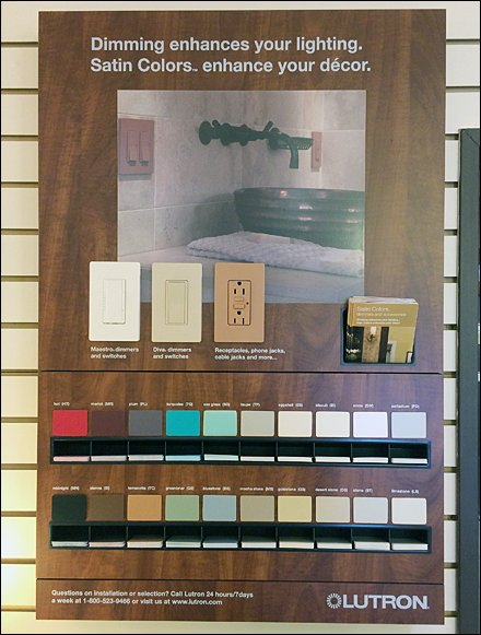 In-Store Lutron Color Samples To-Go