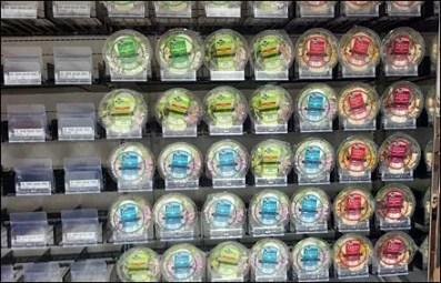 Salad Bar To-Go Merchandising Array