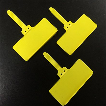 Screaming Yellow Hang Tags Main