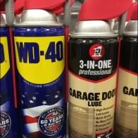 WD-40 vs 3-In-One Shelf-Edge Shootout