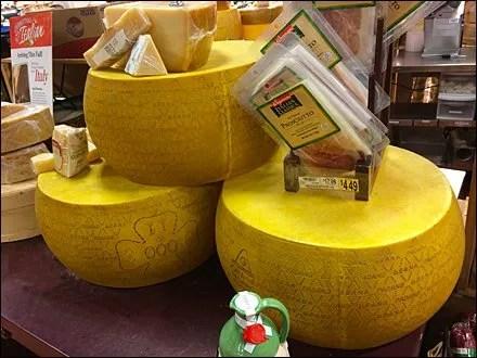 Plastic Cheese Wheels