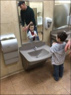 Retail As Civilizing Influence - Child-Height Sink and Fixtures 1