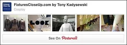 Cosplay FixturesCloseUp Pinterest Board