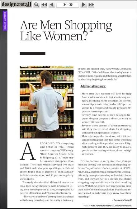 Design Retail Are Men Shopping Like Women Feb 2014 Pg 34