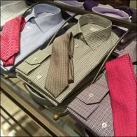 Dress Shirt and Necktie Table Detail Aux