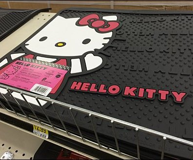 Hello Kitty Boot Mat Main