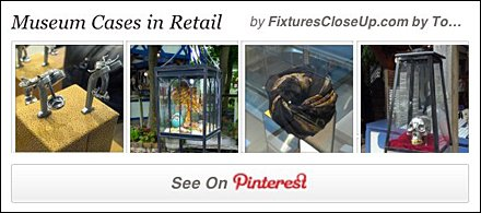 Museum Cases In Retail Pinterest Board for FixturesCloseUp