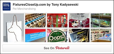 Pet Merchandising Pinterest Board