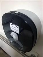Quadraphonic Toilet Paper Dispenser