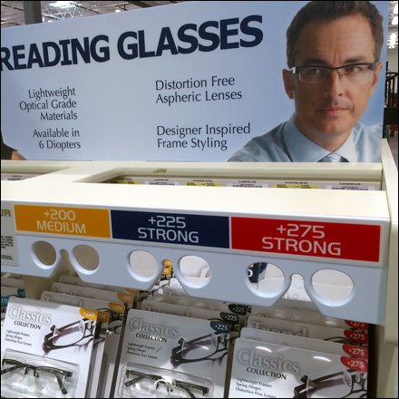 Reading Glasses Magnifying Gallery 1
