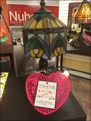 Tiffany Lamp Valentines Pricing