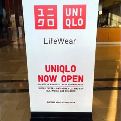 UNIQLO Mall Opening Billboard
