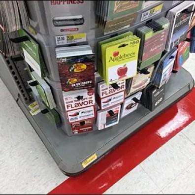 Convex Curved Gift Card EndCap 1