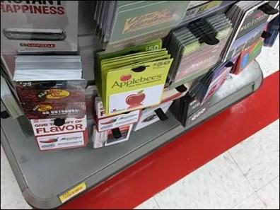 Convex Curved Gift Card EndCap 2