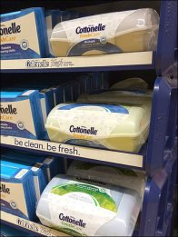 Cottonelle Gravity Feed 2