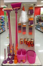 Decorator Cleaning Supplies Display