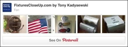 Fan Fixtures and Merchandising Pinterest Board
