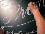 Gourmet Chalkboard Closeup
