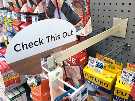 Merchandiser Arm Revamp for Pegboard