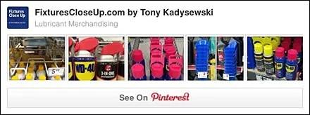 Lubricant #Fixtures and Merchandising Pinterest Board