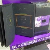 Moleskine Black Page Album Main