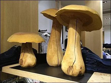Natural Wood Mushroom Main