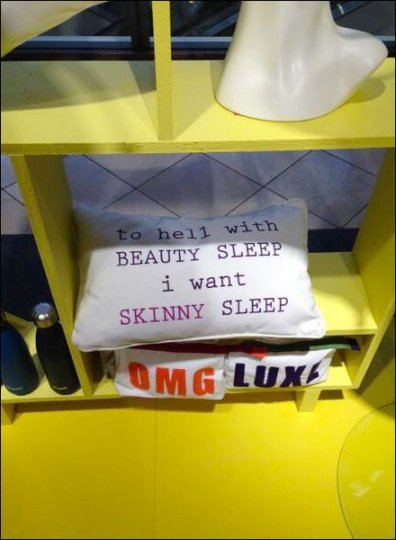 Nordstrom I Want Skinny Sleep Pillow