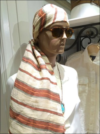 Polo Androgenous Scarf 2