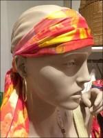 Polo Scarf as Headband
