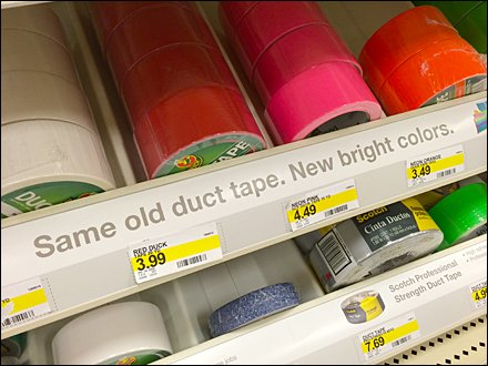 Same Old Duck Tape New Colors