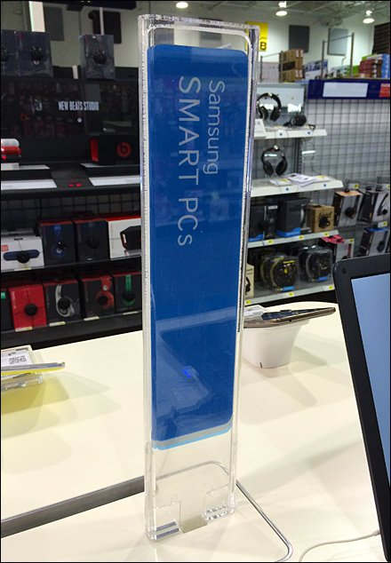 Samsung Retail Displays - Samsung Sign Stick Main